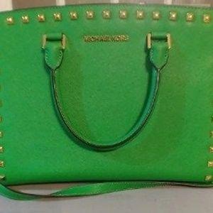Very Rare Michael Kors Selma Studded bag